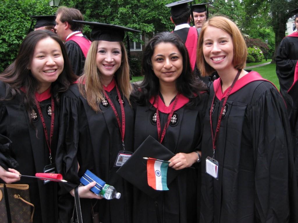 Etudiantes de l'Université de Harvard, à Boston